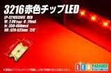 赤色チップLED 3216