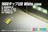 1608チップLED White 5000K