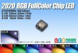 2020RGB LED フルカラー
