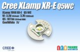 CREE XR-E Q5WC白色 16mm基板付
