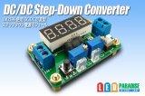 DC/DC出力可変式・電流電圧表示付ステップダウンコンバーター