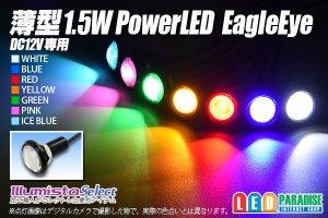 画像1: 薄型 1.5W Power LED Eagle Eye
