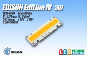 画像1: EdiLineIV ELSX-HF36 3W 電球色