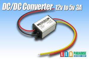 画像1: DC/DCコンバーター 12Vto5V3A