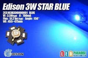 画像1: Edison 3WStar青色 2ES103BX00000001