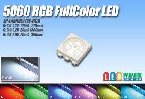 画像1: 5060 RGBLEDフルカラー LP-5060H271B-RGB