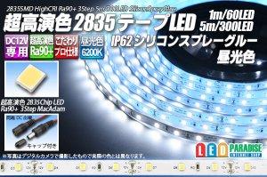 画像1: SSG Ra90+ 2835テープLED 60LED/m 6200K 1-5m