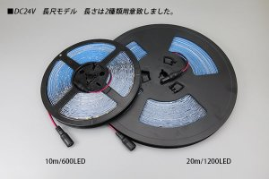 画像3: 24V SSG 2835テープLED 60LED/m 6200K 10m/20m