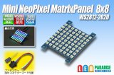 Mini NeoPixel Matrix Panel 8×8