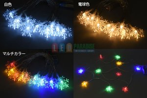 画像4: LEDストリングライト SNOW