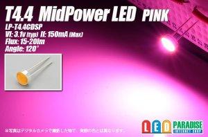 画像1: T4.4 MidPowerLED ピンク LP-T4.4CDSP