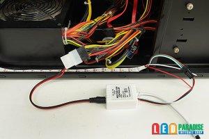 画像2: ペリフェラル4pin/DC変換ケーブル 5V