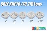 CREE XHP70/XHP70.2用オプティカルレンズ
