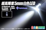 LP-W54L5111P 5mm白色LED 75000mcd
