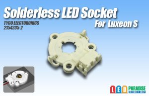 画像1: Solderless LED Socket 2154235-2
