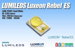 画像1: LUXEON Rebel ES LXML-PWC2