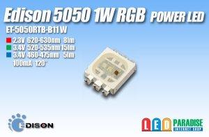 画像1: 5050 1WRGB ET-5050RTB-B11W