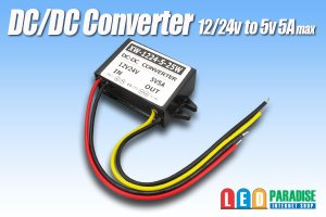 画像1: DC/DCコンバーター 12/24Vto5V5A