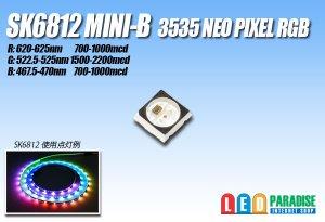 画像1: SK6812MINI_B  NeoPixel RGB ブラック