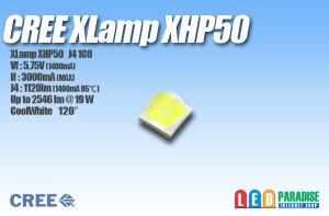 画像1: CREE XHP50 白色