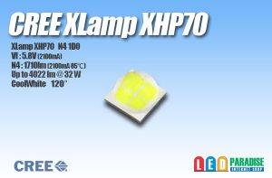 画像1: CREE XHP70 白色