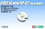 CREE XP-G2 白色 14mm基板付き