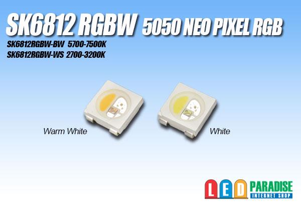 画像1: SK6812RGBW NeoPixel RGBW